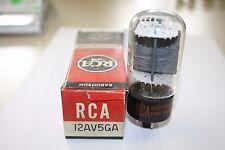 12AU5GA RCA VINTAGE TUBE- NOS IN BOX