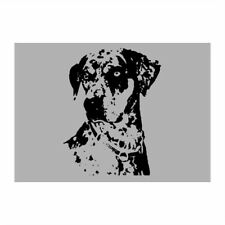 Catahoula Leopard Dog Face Special Graphic Sticker