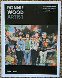Ronnie Wood 'Artist' hand signed edition by Ronnie, large hard back book. NEW (1