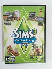The Sims 3: Outdoor Living Stuff - PC/Mac - Video Game - EXCELLENT CONDITION