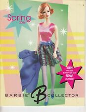 2006 Vintage Barbie Doll brochure - British Invasion, Cowgirl , 20 pages / t4