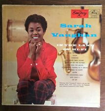 "Sarah Vaughan ""IN THE LAND OF HI-FI"" MG36058/1956 Original Mono"