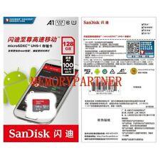 Sandisk 128gb ultra micro SDXC UHS-I scheda 100MB/S SD classe 10 sdsdqu-128g