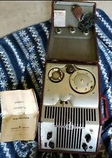 Webster Chicago Wire Recorder Model 80-1 with microphone, manual and more!look!!