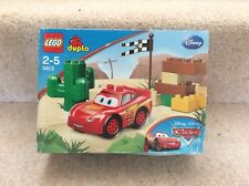 Lego Duplo 5813 Disney Pixar Cars Lightning McQueen. Rand New Sealed Set