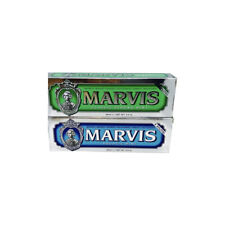 Marvis Toothpaste Double Pack Aquatic Mint & Strong Mint / 85ml Each One