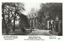 London Postcard - Old Ealing 11 - Pitshanger Manor c1904  A5074