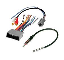 Wire Harness Plug Antenna Adapter Car Installation Aftermarket Radio Stereo Set