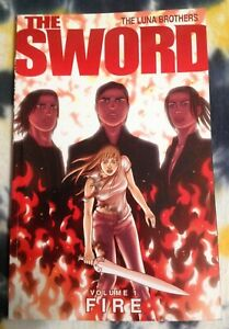 The SWORD Fire Vol 1 ( Luna Brothers) - Image Comics / Graphic Novel (TPB) - New