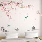 EY_ DIY SPRING FLOWER TREE BIRD WALL STICKER DECAL HOME LIVING ROOM BEDROOM DECO