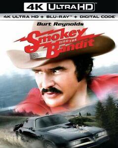 Smokey and the Bandit (4K Ultra HD + Blu-ray, with SLIPCOVER, 1977 BURT REYNOLDS