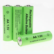 1.5V AA Alkaline Rechargeable Batteries w/h charger for toy camera RC controller