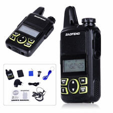 BAOFENG BF-T1 walkie talkie with PTT earpiece FM radio UHF 400-470MHZ VOX 16CH g