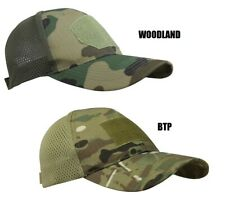 Cappello Berretto Baseball Cap rete Mesh Militare Softair Caccia mimetico