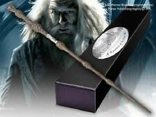 HARRY POTTER OFFICIAL DUMBLEDORE WIZARD ELDER WAND + BONUS NAME CLIP STAND NEW