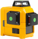 PLS 3X360G KIT 3X360 Green Line Laser Level, RBP5, Case and Bracket