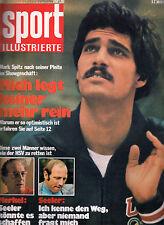 Sport Illustrierte 23 /1972 Mark Spitz Max Merkel Uwe Seeler Motorsport