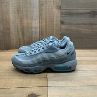 Nike Mens Air Max 95 Running Shoes Gray CV1635-001 Lace Up Low Top 8 M New