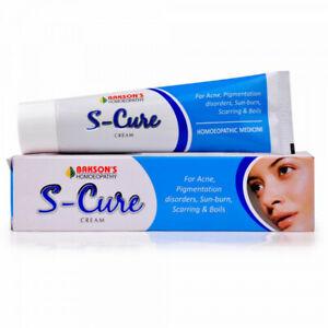 Homeopathic Bakson S Cure Cream 30g For Acne, Boils & Pimples, Pigmentation Spot