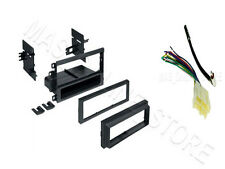 SINGLE DIN FOR CADILLAC STEREO INSTALL DASH-KIT W/ WIRE HARNESS AND ANTENNA!!