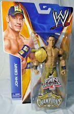 WWE JOHN CENA K-MART Exclusive CHAMPIONS Basic Wrestling Figure w/ TITLE BELT W5