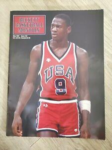 Beckett Basketball Monthly May 1991 Issue #10 Michael Jordan