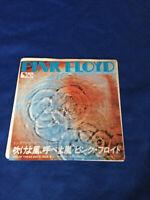 "Pink Floyd One of These days white label promo  7"" vinyl EMR-20388 cw Seamus"