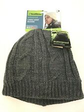 SealSkinz Waterproof Cold Weather Cable Knit Beanie Thermal 4 Hat New $35 L/XL