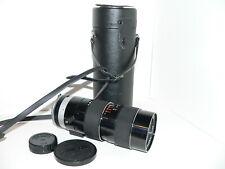 Auto Tamron Nikon F Mount 1:4, 70~220mm Tele Zoom Lens w/Caps & Case