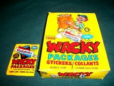 1988 Wacky Packages O-PEE-CHEE Series Vintage Sealed Pack Straight Out of Box