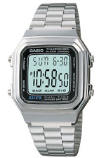 Casio Watch Retro Digital Unisex  A-178  A178WA   Illuminator Alarm