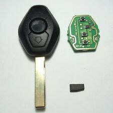 3 Button EWS Remote Key For BMW 3 5 7 Series E38 E39 E46 433MHZ/315MHZ PCF7935