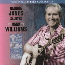 George Jones - Salutes Hank Williams (CD)