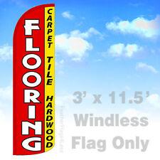 Flooring Carpet Tile Hardwood Windless Swooper Feather Flag Sign 3x115 Rq