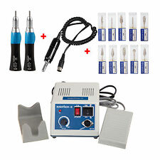 Maratona Electric micromotor MOTOR +2 manipolo + frese 2.35mm dentale x dentista