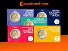 2 Euro Frankreich 2021 Olympische Spiele 2024 in Paris CoinCard