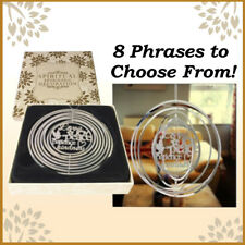 Spiritual religeous spinning decoration for home or garden hanging ornament