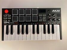 AKAI professional MPK mini Play MIDI Keyboard Pad Controller w/Sound, USB