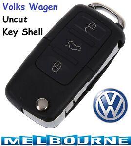 Remote Key Case Shell VW BEETLE JETTA PASSAT GOLF Rabbit MK4 MK5 R32 GTI Car