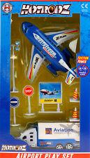 Aéroport lot jeu Enfants Jouet Avion Cadeau pour Enfants Friction Avion Power avion jouet