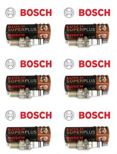 Bentley Continental Bosch Spark Plugs 02422256248RE 7913 Set of 6