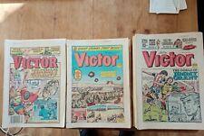 56 ISSUE JOB LOT VICTOR COMIC 1987 - 1990 G/VGC