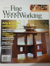 Taunton's Fine Woodworking Magazine December 2010 Arts & Crafts Coffee Table