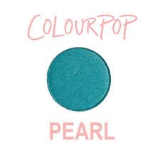 ColourPop Pressed Powder Eye Shadow Pan - TINY TANGERINES - pearl satin teal