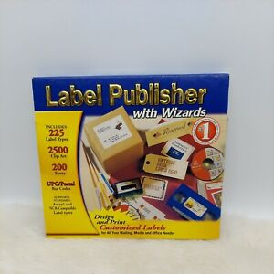 COSMI Label Publisher with Wizards PC CD ROM Windows Brand New ~ QUICKSHIP