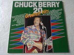 LP Chuck Berry 20 Greatest Hits Mais 0016983 Holland White Label Ex / VG