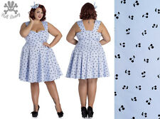 Hell Bunny Lucine Rockabilly Pinup Swing Retro Vintage Dress XL-4XL