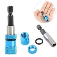 Verstellbarer Schraubentiefenhalter 1/4 '' Hex Driver Magnetic Tip Hand Super