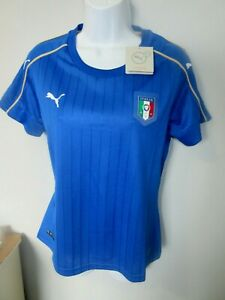 NWT Womens Puma Italy National Team -2018 World Cup Football Soccer Jersey  XL