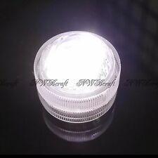 Submersible Waterproof Triple LED Dome Tea Lights Bright Party Vase Event Decor